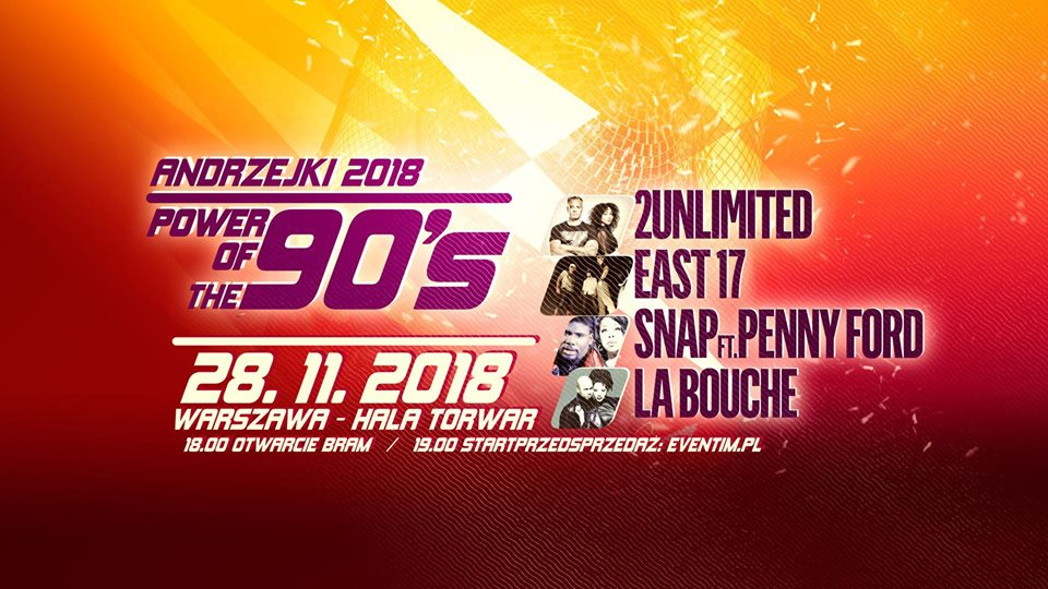 Andrzejki 2018 – Power Of The 90`s